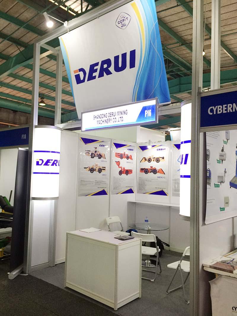 DERUI showed on ELECTRA MINING AFRICA 2018.